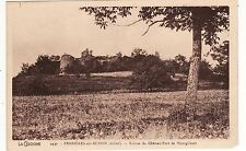CPA 03 FERRIERES sur SICHON (allier) Ruines du Chateau Fort de Montgilbert