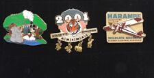 Lot Of 3 Disney Animal Kingdom Pins