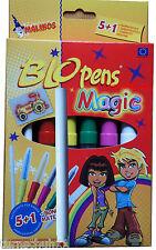 Pustestift Blopens Magic Pens 6 Stifte 8 Schablonen Zauberstift plus Extrastift