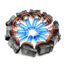 10 X H11 Kit 55W Gas Lámparas de Halógeno Óptica Xenón Blancas Luz Su Coches