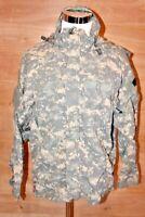 US Army Gen III ACU Digital Camo Softshell Cold Weather Jacket Small Regular