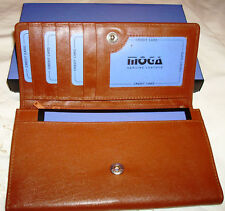 Moga Leather Ladies BrownWallet FREE SHIPPING