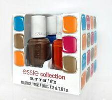 ESSIE-- Mini SUMMER Collection 2014 - 4 colors x 0.16oz - 18138