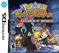 Pokemon Mystery Dungeon: Explorers of Darkness (Nintendo DS, 2008)GAME CARD ONLY