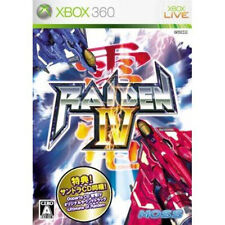 Raiden IV 4 + CD Xbox 360 Xbox360 Import Japan