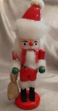 "Hirschmann Nut Cracker German Santa 10"""