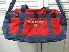 Vtg. Polo Sport Ralph Lauren Duffle Bag Spell-Out
