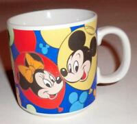DISNEY Mug/Cup Mickey Mouse/Minnie/Donald Duck/Pluto/Goofy 8 oz. FREE SHIPPING!