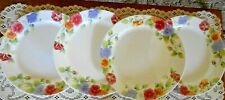 """Corelle Corning Ware Summer Blush Set of 4 Dinner Plates  10 1/4"""" NEW and Unused"""