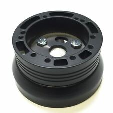 Black 5 6 Hole Steering Wheel Hub Adapter GM Chevy Buick Oldsmobile AMC