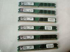 KINGSTON RAM 1Gb PC2-6400 DDR2-800 240pin Memoria x DESKTOP No Ecc PERFIL BAJO