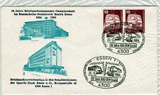 Eisenbahn Philatelisten,30 Jahre Gemeinschaft im Bundes-Sozialwerk 1954-1984 FDC