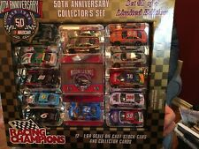 Racing Champions NASCAR 50th Anniversary 1:64 complete set of 4