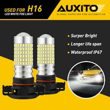 AUXITO 5202 H16 LED Fog Light For GMC Sierra 1500 2500 HD 2009 2010 2011 2012 G