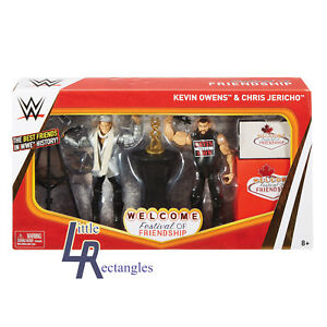 WWE Figures - Epic Moments - Kevin Owens & Chris Jericho - Mattel - Brand New