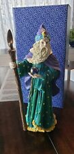 """Wizard Figurine """"The Fantasy Of GlenWillow"""" Russ Barrie & Comp. New In Box"""