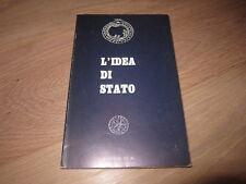 L'IDEA DI STATO-J. EVOLA E C. COSTAMAGNA-EDIZIONI DI Ar 1A ED. 1970