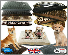 Luxurious Pet Bed, Soft Pillow Cushion for Pet Cats/Dogs Washable 2 Sizes
