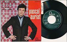 """PASCAL AURIAT 45 TOURS EP 7"""" FRANCE CET HOMME-LA"""