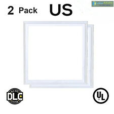 2PCS/BOX 2X2FT LED FLAT PANEL LIGHTS 40W 5000K DIMMABLE CEILING UL DLC US SELLER