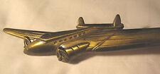 Antique Bronze Chicago Airplane Desk War Art Paper Bill Letter Knife Opener Tool