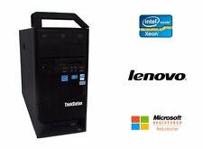 Lenovo S30 Desktop Workstation Intel Xeon 6 Core 16GB RAM 500GB HD NVIDIA Win 10