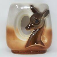 Royal Copley Vintage Mid-Century Deer Fawn vase planter