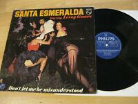 LP Santa Esmeralda Leroy Gomez Don't let me be Vinyl Philips 9120 236