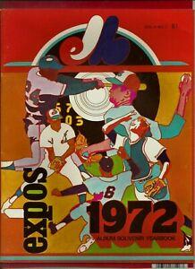 ORIGINAL 1972 MONTREAL EXPOS YEARBOOK UNOPENED FROM COOPERSTOWN SHOP