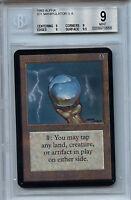 MTG Alpha Icy Manipulator BGS 9.0 (9) Card Magic Gathering WOTC Amricons 0668