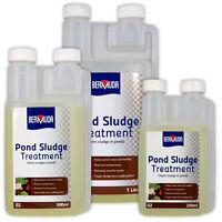 Bermuda Pond Sludge Treatment Removes Debris Silt Reduces Maintenance Fish Koi
