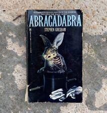 Abracadabra by Stephen Gresham 1988 Paperback Paperbacks from Hell Zebra Horror