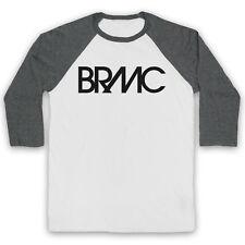 BLACK REBEL MOTORCYCLE CLUB UNOFFICIAL BRMC LOGO ROCK 3/4 SLEEVE BASEBALL TEE