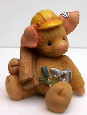 "THIS LITTLE PIGGY NAKED PIG CONSTRUCTION WORKER FIGURE ""YOU BUILD ME UP"""