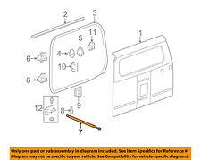 Hummer GM OEM 06-10 H3 Back Door-Support Strut 15864389