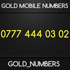 GOLD 0777 GOLDEN EASY VIP DIAMOND PLATINUM 0777 MOBILE NUMBER 07774440302