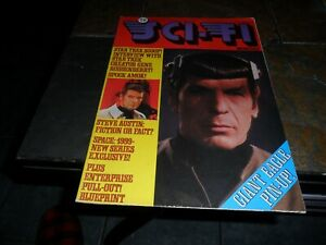 1976 TV SCI-FI Monthly Magazine #2 issue UK -  Bionic Man -Space 1999 -Star Trek