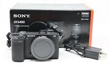Sony Alpha A6400 24.2MP Digital Camera - Black Body Only- Mint-46 Shutter Count