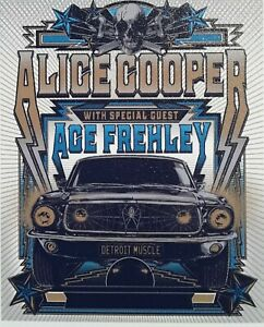 Alice Cooper 2021 Ace Frehley ☆ promo tour Magnet 3.5 X 4.5 inches large