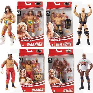 WWE Royal Rumble Elite Set - Stone Cold, Warrior, Titus, Umaga - In Stock