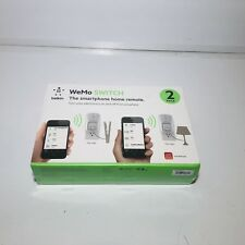 Wemo Insight Smart Plug 2-pack, Control Your Lights and Manage Energy Costs From