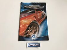 Notice - Need For Speed Underground - PC - FR