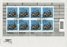 Switzerland Street Art Stamps 2020 FDC Smart City Zaira 8v M/S