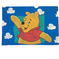 Disney Winnie The Pooh And Piglet Standard Size Pillowcase Vintage 1990s