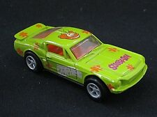 Scooby-Doo Daphne '68 Ford Mustang Racing Champion Diecast 1:64 Bright Green EUC