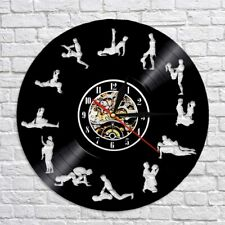 24 Hours Sex Position Wall Clock LED Backlight Hollow Watch Clocks 3D Decor