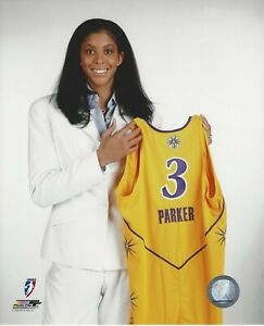 CANDACE PARKER 8x10 WNBA DRAFT DAY LICENSED PHOTOGRAPH SPARKS / TENNESSEE