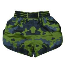 Adidas Camo Muay Thai Shorts Adult Satin Kickboxing Shorts Lightweight K1 Shorts