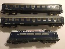 LIMA HO GAUGE LOCO LOCOMOTIVE TRAIN & COACHES DB GOLDEN SERIES E410001 BREMSE DI