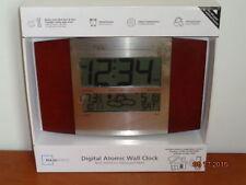 New Mainstays Digital Atomic Wall Clock